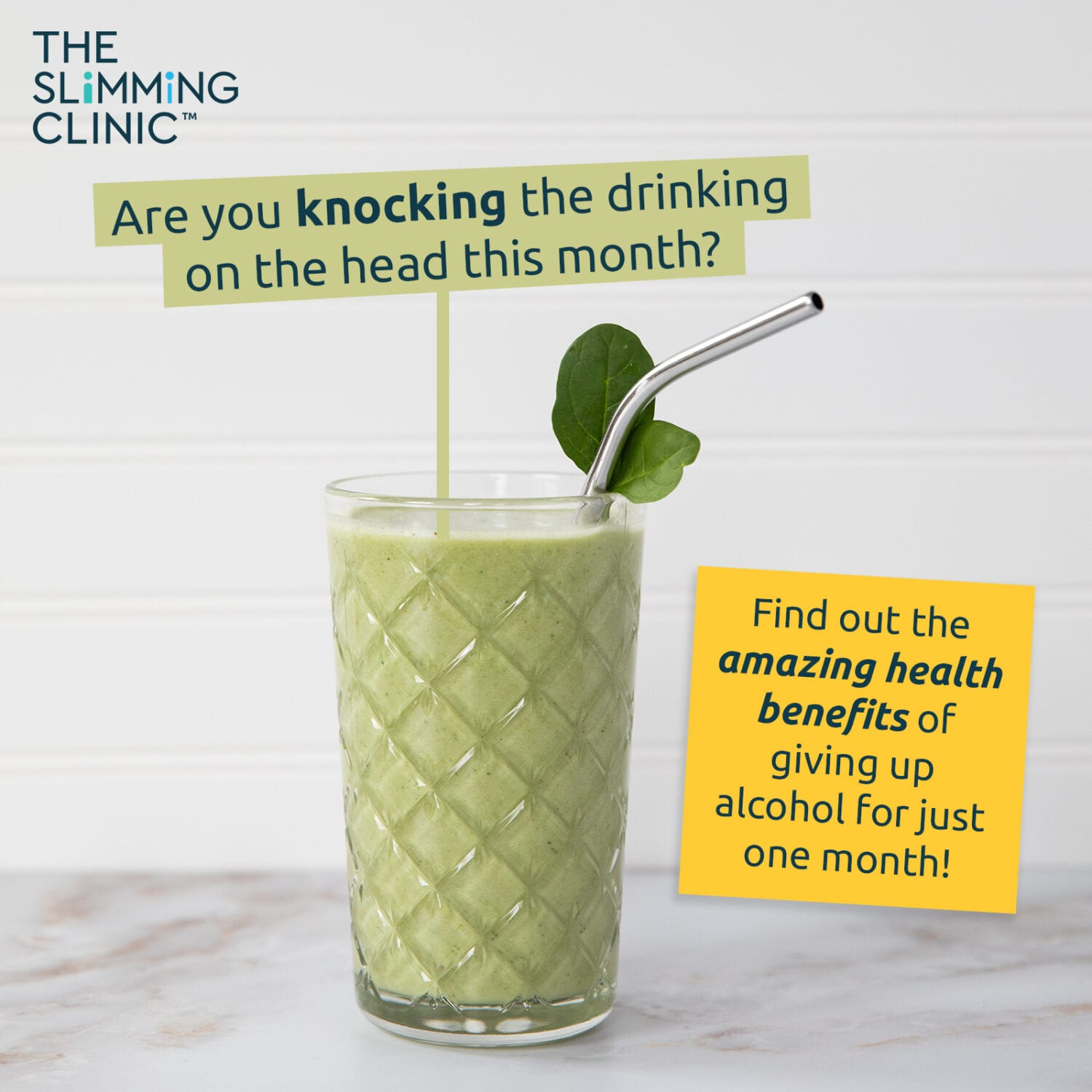 Dry January for Health and Weight Loss