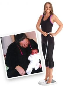Rachel before and after losing weight with The Slimming Clinic - The Slimming Clinic - medical slimming with the largest medical slimming group in the UK.