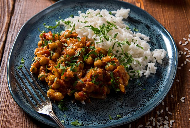 Chick Pea and Spinach Curry Recipe