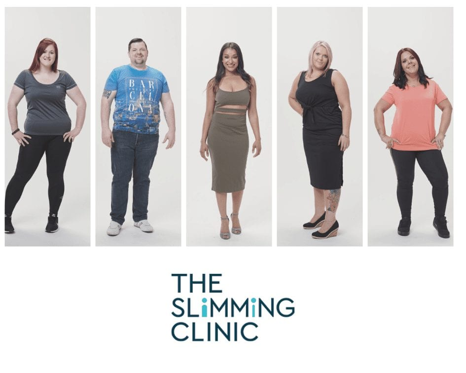 The Weight Loss Photoshoot Process at The Slimming Clinic