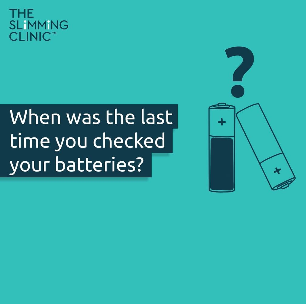 Drained batteries with the wording 'When was the last time you checked your batteries?'