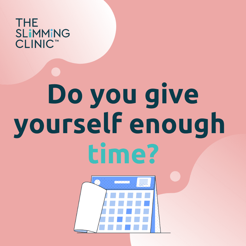 Do you give yourself enough time to lose weight?