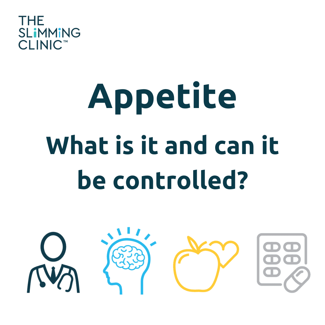 What is appetite and can it be controlled?