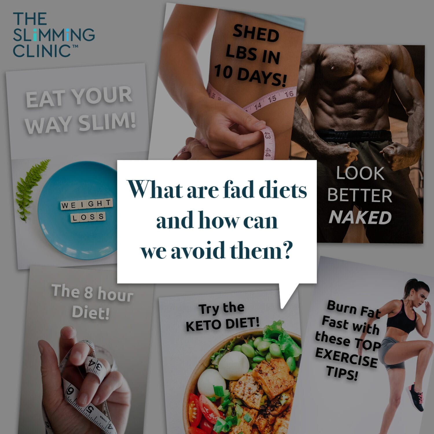How to spot and avoid fad weight loss diets!