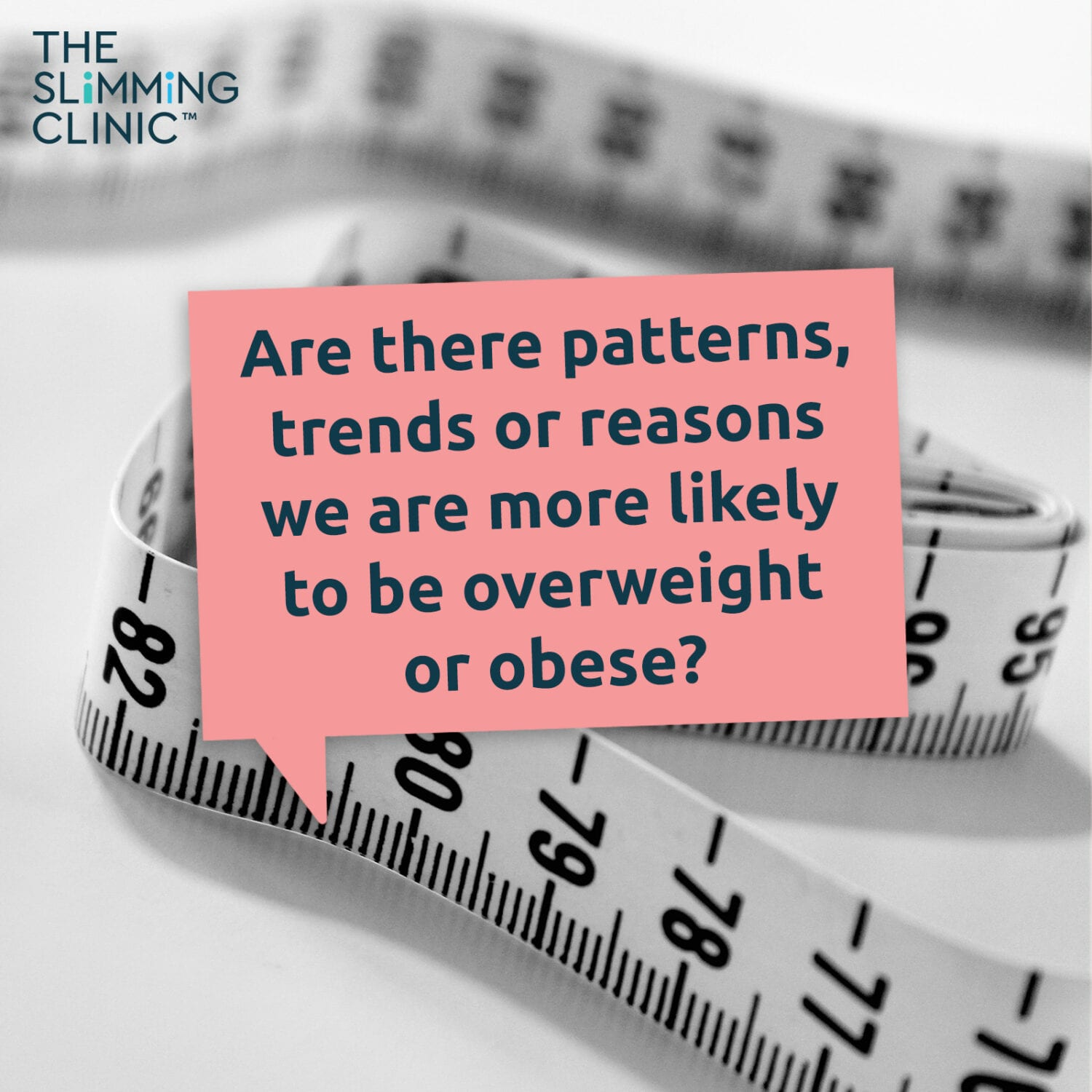 Do certain factors make us more likely to be obese or overweight?