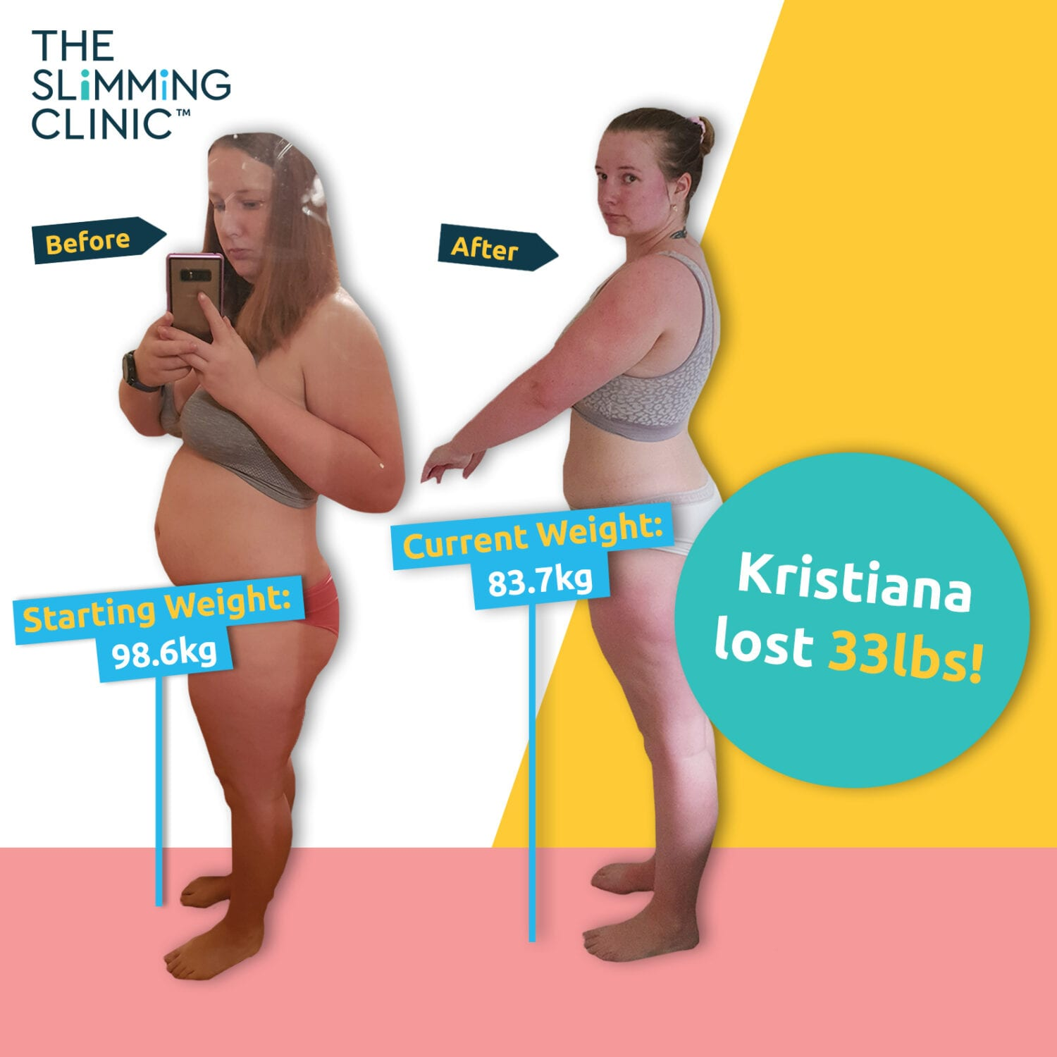 Kristiana's Weight Loss Story