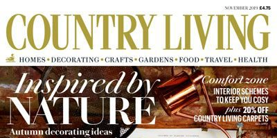 Country Living Magazine Nov 2019