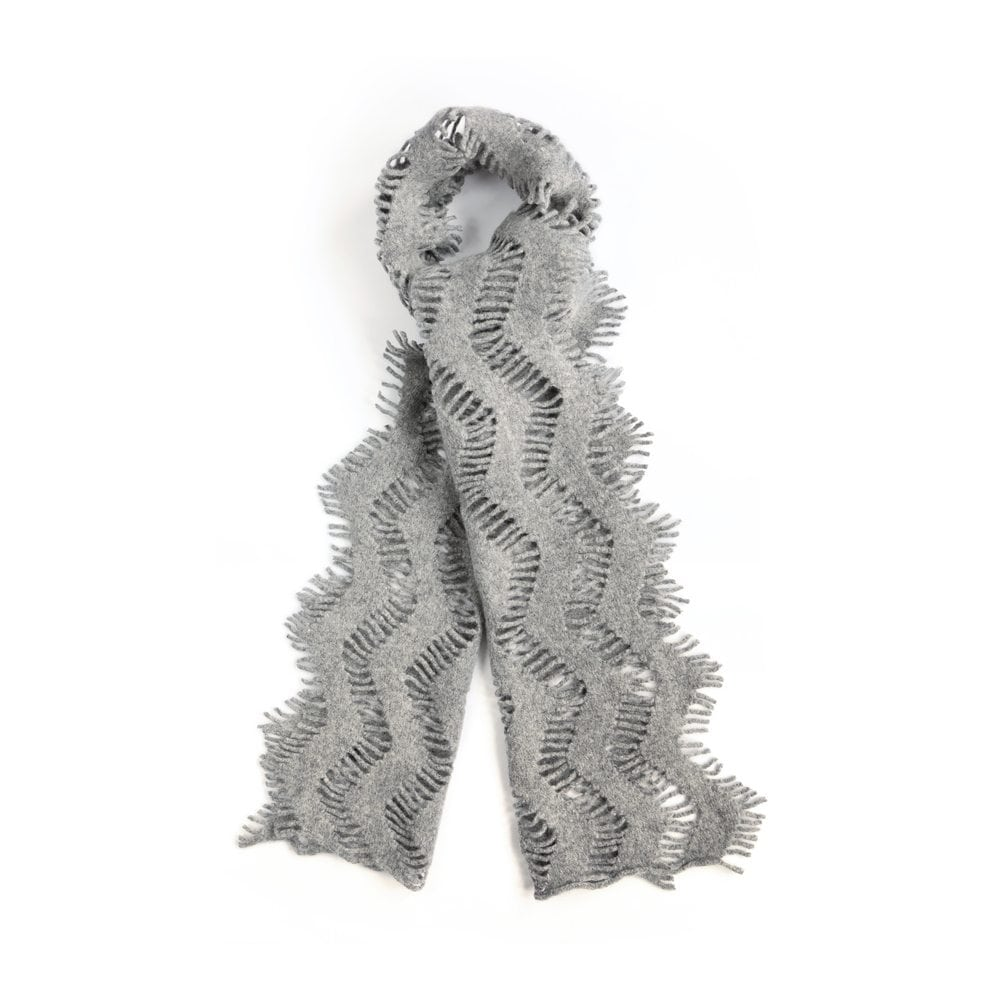 Silver Frond Scarf