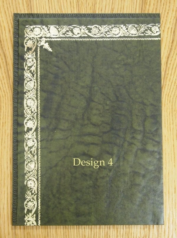 Green Design Leather Inserts