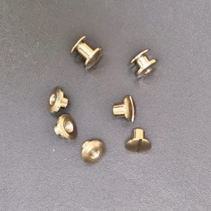 Leather Fixings Binding Screws