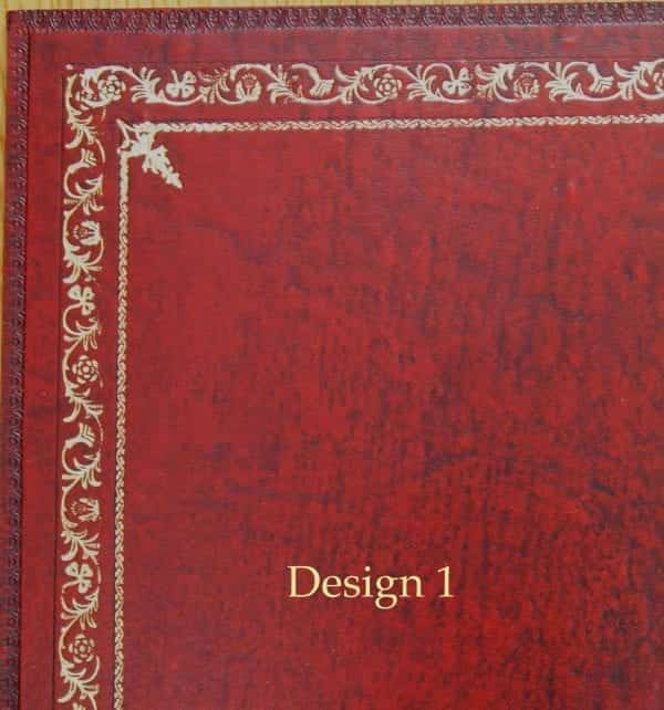 Red Design Leather Inserts