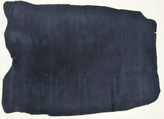 Velour Lining Pig Suede Navy Blue