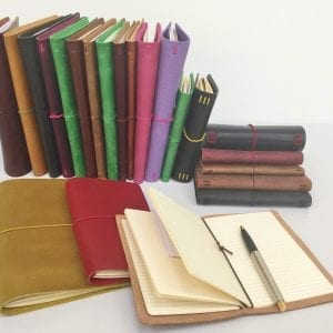 Notebooks, Leather and Kits