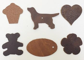 die cut shapes browns leathercrafts