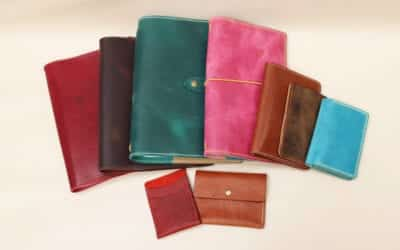 New handcrafted leather products