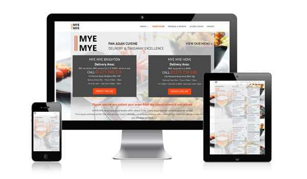 nifty website design - mye mye website