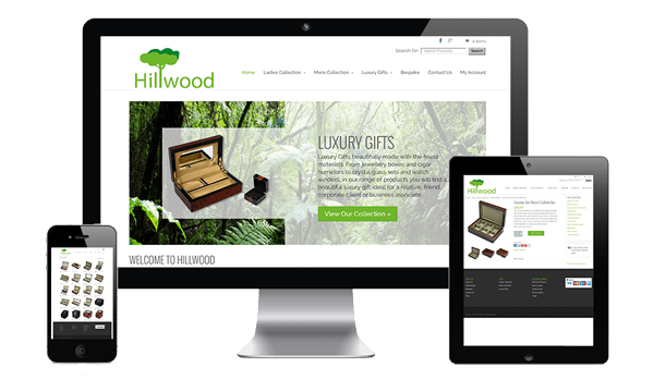 nifty website design Hillwood Website
